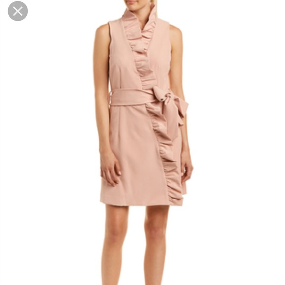 d22154fa16 Milly Ruffle Wrap Dress